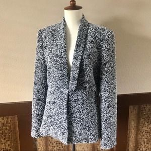 Les Copains Sequin Tweed Blazer or Jacket - Large